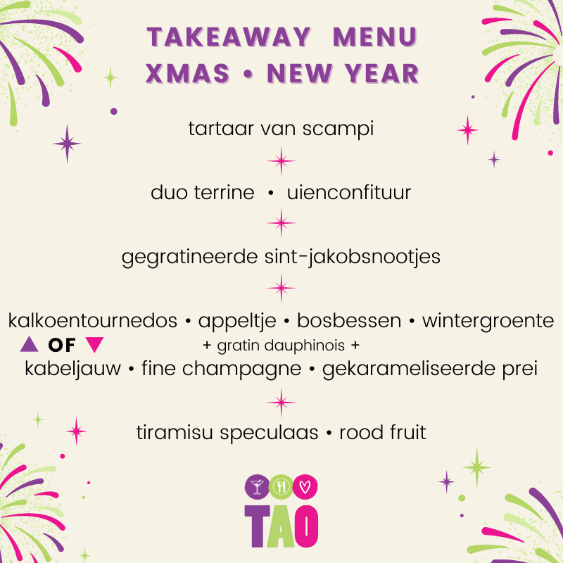 take away feestdagen