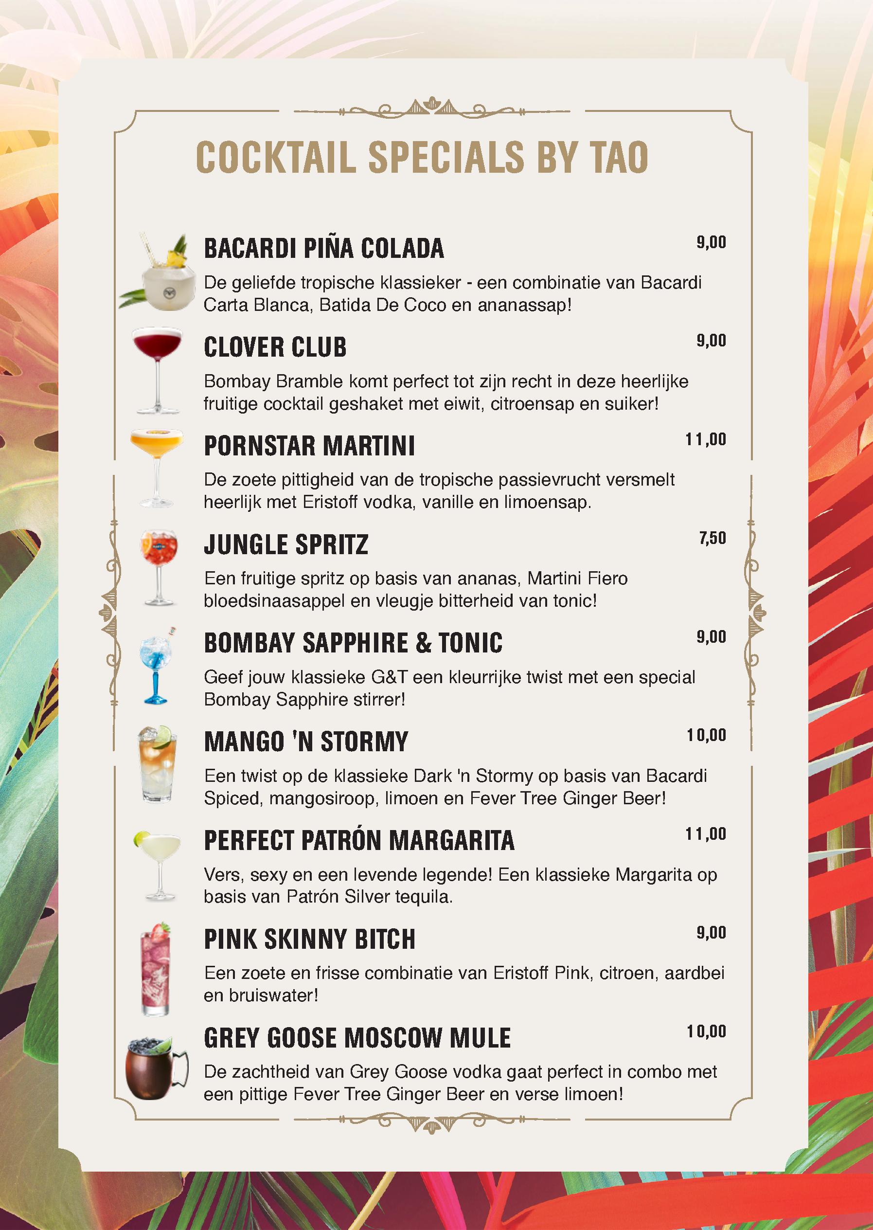 Cocktails Oostende